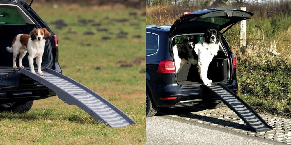 Трикси Пандус складной для собак, в ассортименте, пластик, Trixie
