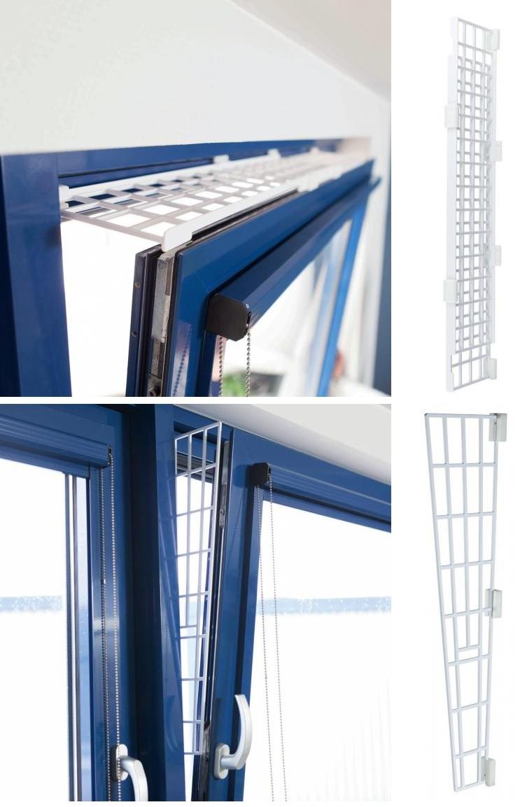Трикси Защитные пластиковые решетки на откидные окна, белые, в ассортименте, Trixie