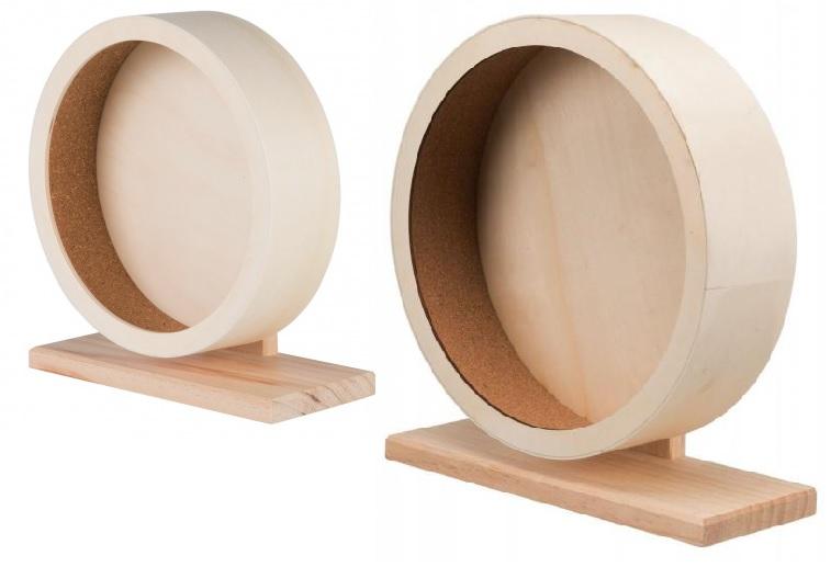 Трикси Колесо деревянное для грызунов, в ассортименте, Trixie