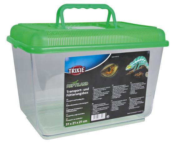 Трикси Переноска-террариум для рептилий, 19*12*14 см, Trixie