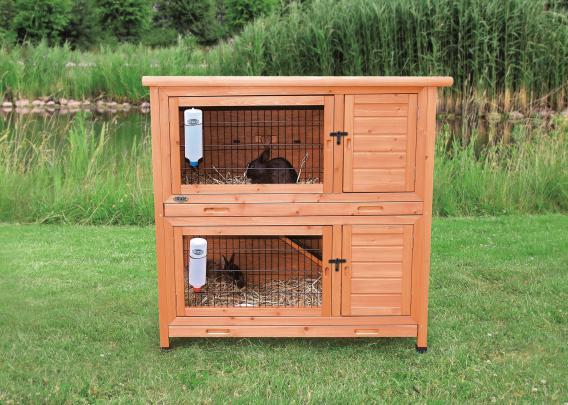 Трикси Деревянная клетка-крольчатник Natura, 116*65*111 см, Trixie ПОД ЗАКАЗ