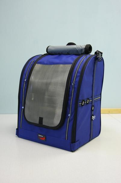 Переноска-сумка StePan для птиц, 39*30*45 см, синий, вес 1,7 кг