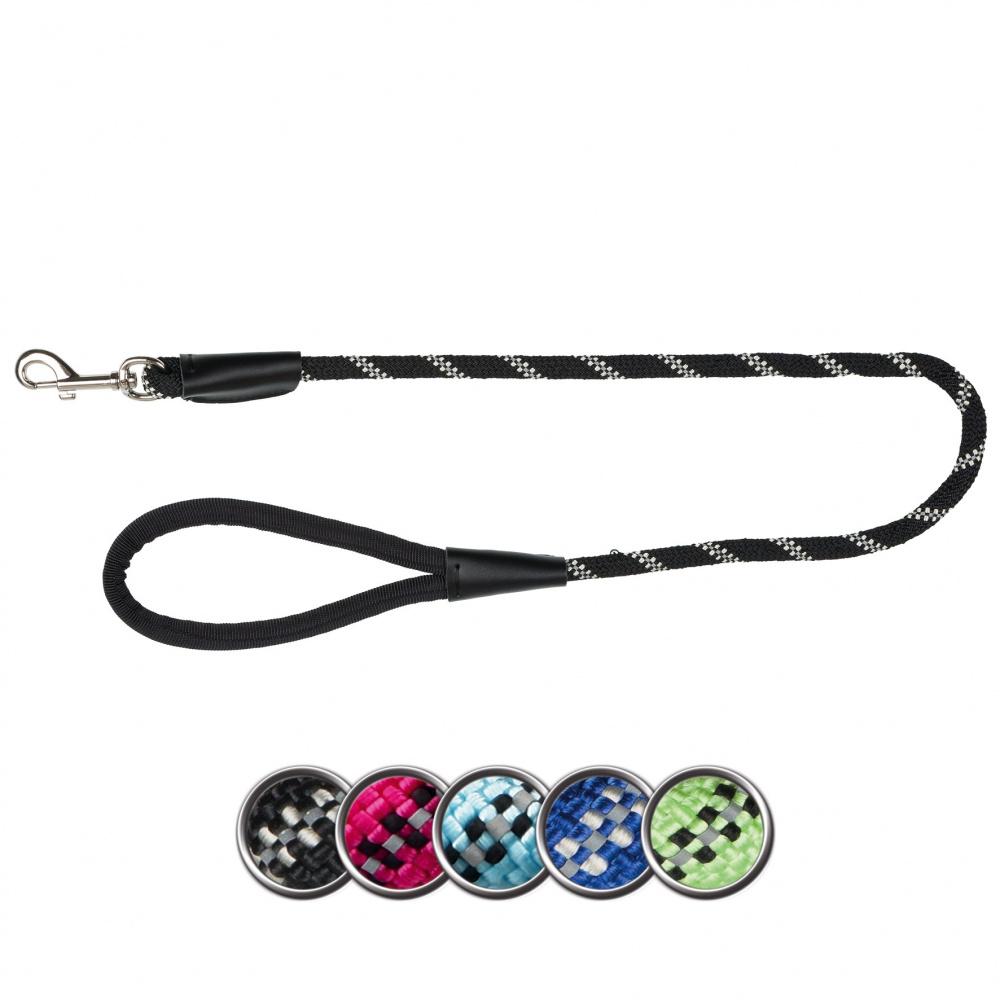 Трикси Поводок Sporty Rope со светоотражающими элементами, в ассортименте, Trixie