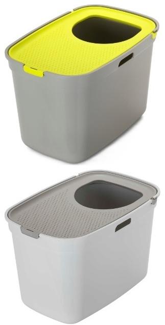 Модерна Туалет-бокс Top Cat, с верхним входом для кошек, 59*39*38 см, в ассортименте, Moderna