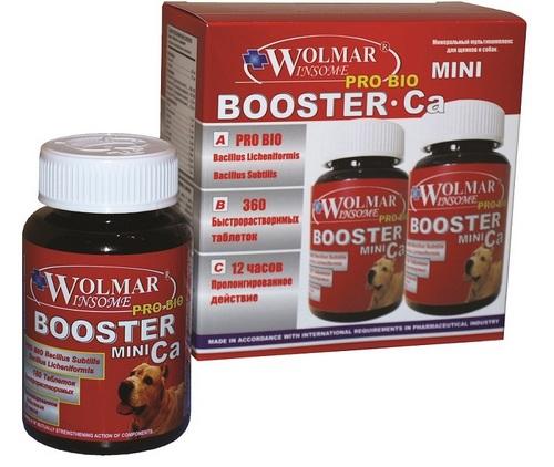 Волмар Винсом Мультикомплекс Pro Bio Booster Ca Mini для щенков и собак мелких пород, 360 шт, Wolmar Winsome