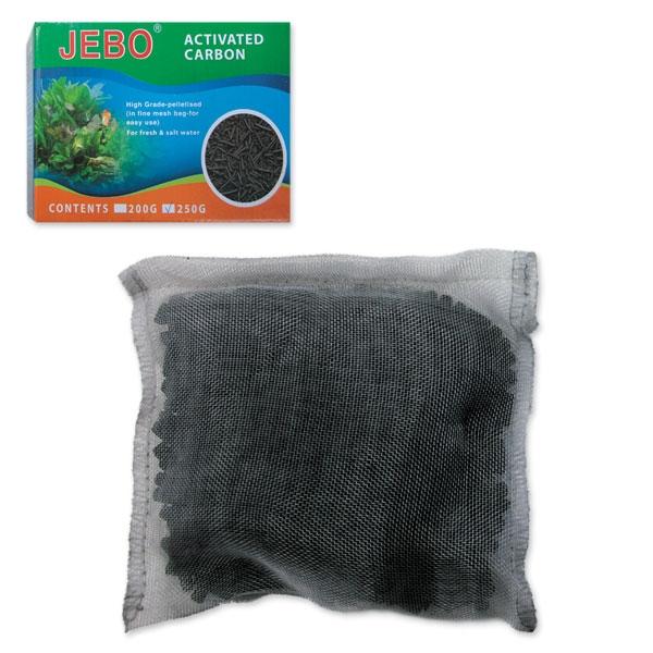 Джебо Уголь активированный для фильтров любого типа, 250 г, Jebo