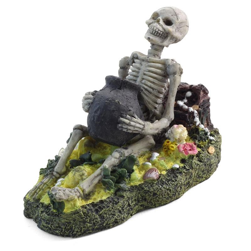 Лагуна Грот аэрационный Скелет, 10*17*10 см, Laguna