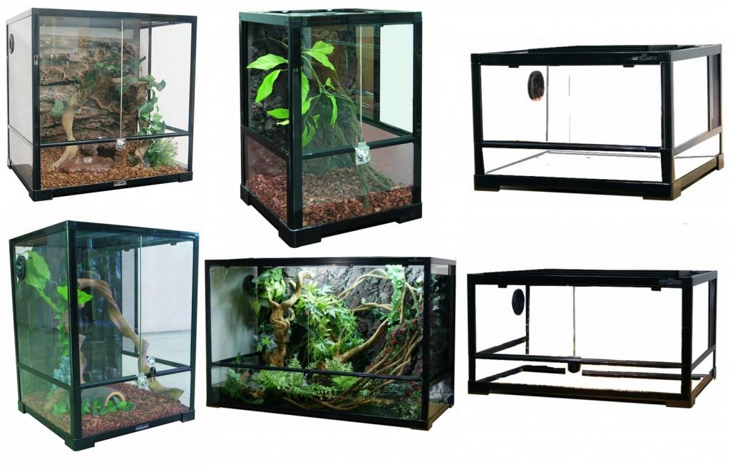 Репти Зоо Террариум сборный для рептилий и амфибий, в ассортименте, Repti Zoo
