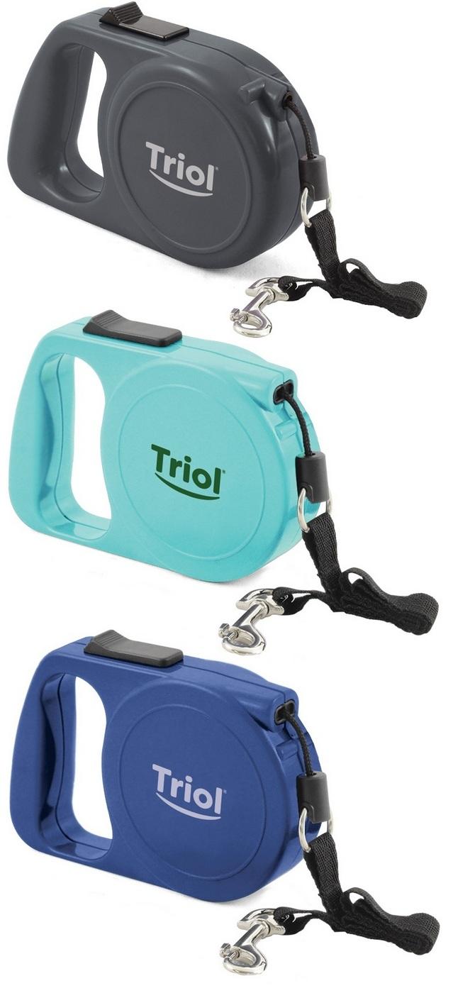Триол Поводок-рулетка FD9006 для собак, трос 5 м, в ассортименте, Triol