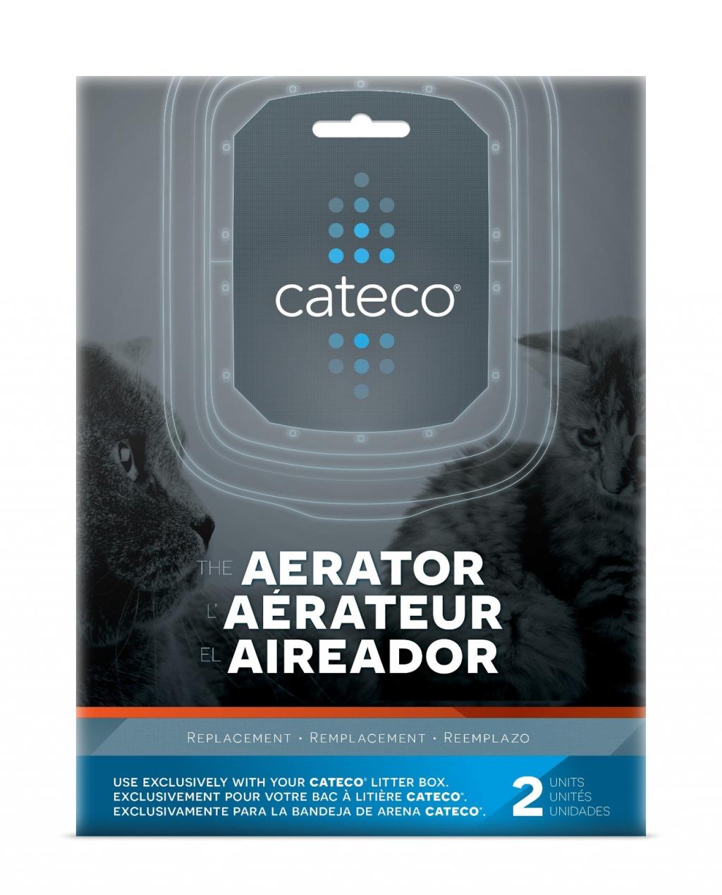 Канада Литтер Сетка-аэратор Cat Eco для кошачьих туалетов, в упаковке 2 штуки, Canada Litter