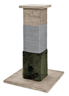 Ферибиела Когтеточка Колонна Tiragraffi 3 Strati GTT888 для кошек, 40*40*64 см, Ferribiella