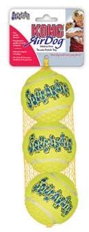 Конг Игрушка Air Теннисный мяч ast2e 6 см средний для собак, 3 шт/уп, Kong