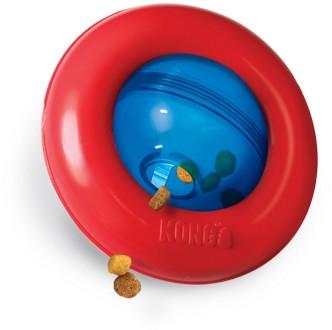 Конг Игрушка интерактивная для лакомств Gyro для собак, 13 см, Kong