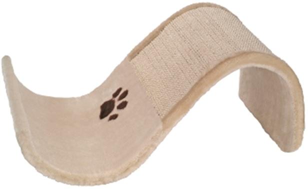Нобби Когтеточка-волна Sinus для кошек, 47*30*20 см, бежевая, Nobby