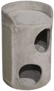 Нобби Домик-башня Grado для кошек, диаметр 37 см, высота 56 см, 2 окошка, Nobby