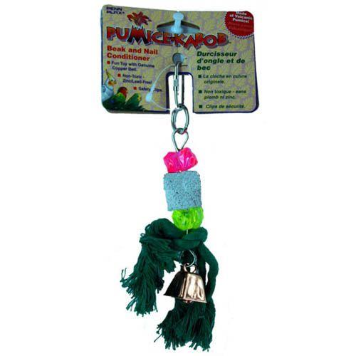 Пенн Плекс Игрушка Вулканический камень для птиц, 18*7см, Penn-Plax