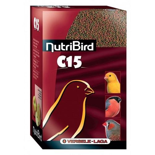 Верселе Лага Гранулированный корм NutriBird C15 Maintenance для канареек и зябликов, 1 кг, Versele-Laga