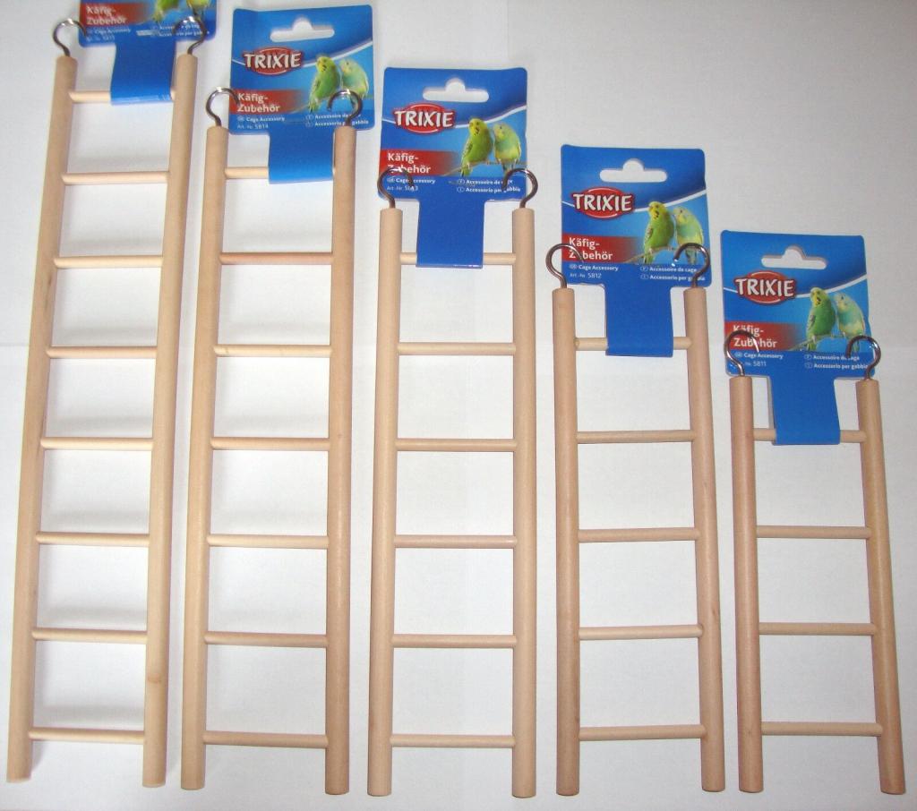 Трикси Лестница деревянная с крючками, в ассортименте, Trixie