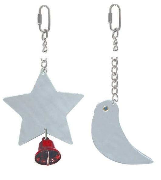 Триол Игрушка-зеркало для птиц, в ассортименте, Triol