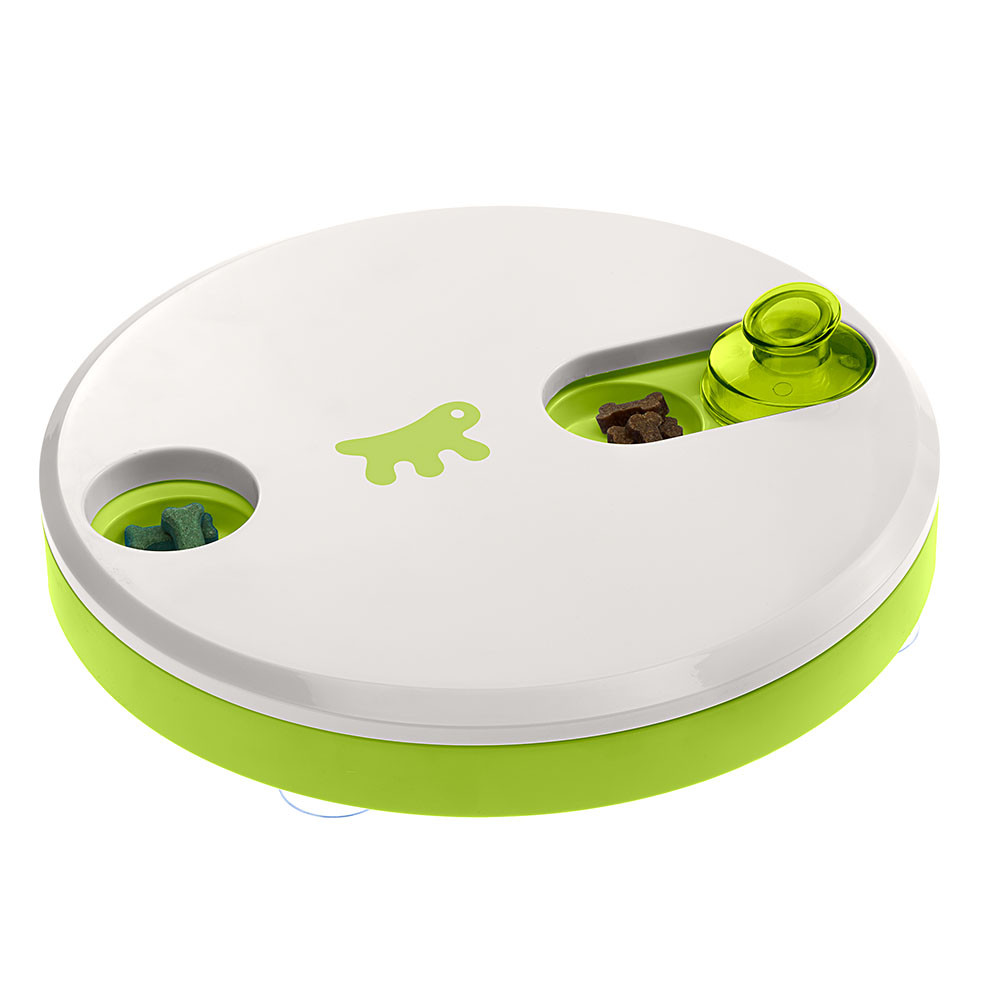 Ферпласт Интерактивная игрушка-кормушка Duo для кошек и собак, 24,5*5,8 см, Ferplast