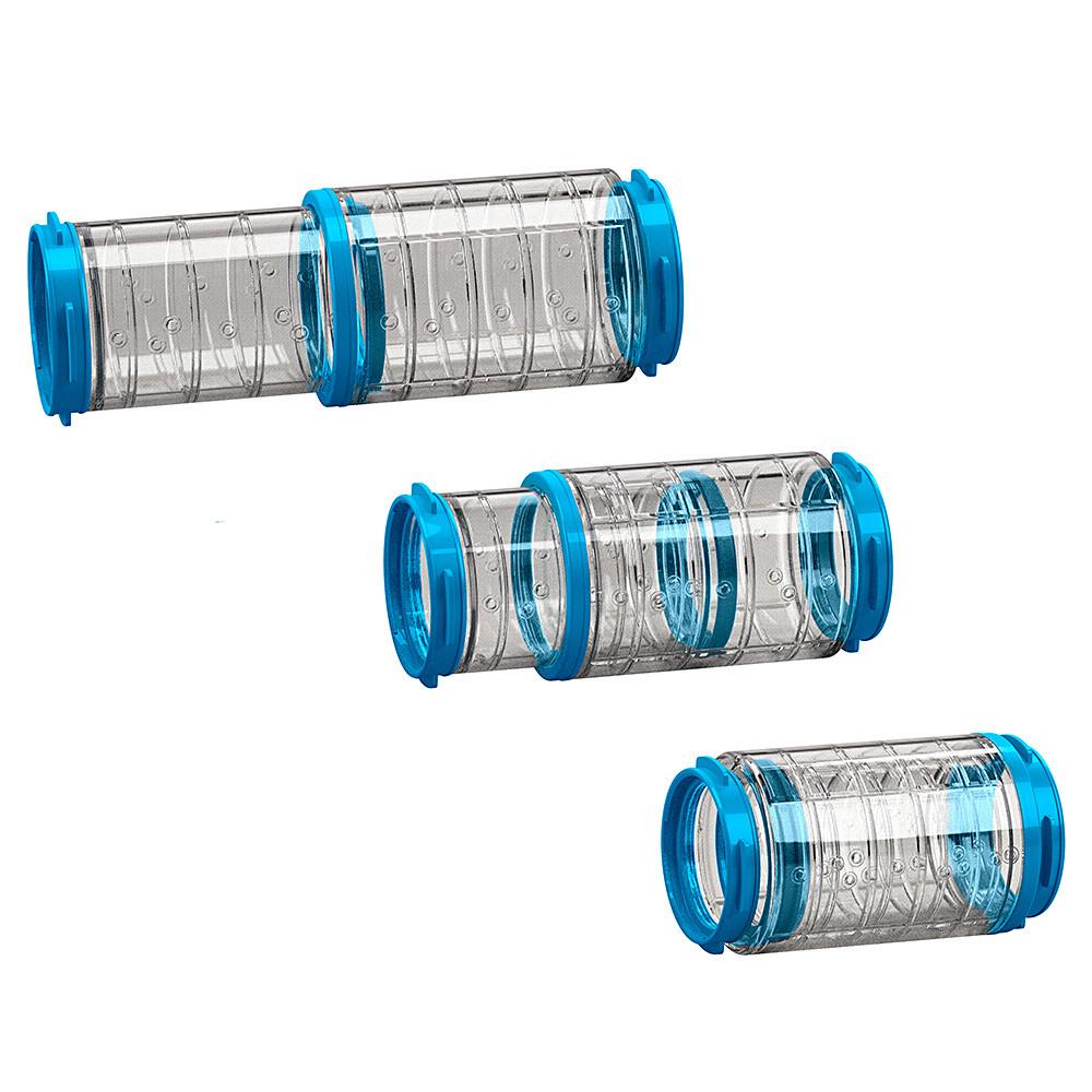 Ферпласт Телескопический туннель Tube FPI 4816 для клеток, длина 12,5-20 см, диаметр 6 см, в ассортименте, Ferplast