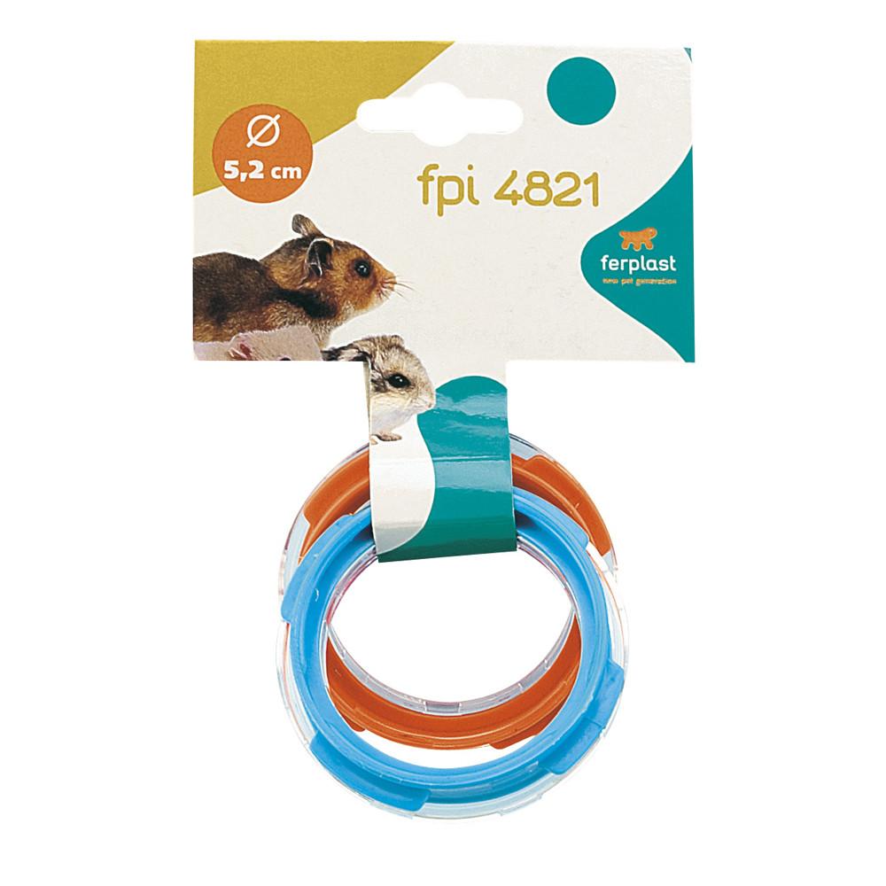 Ферпласт Муфта (соединитель) для тоннелей (труб) Tube FPI 4821 для модульных клеток Ферпласт, в ассортименте, 2 шт/уп., Ferplast