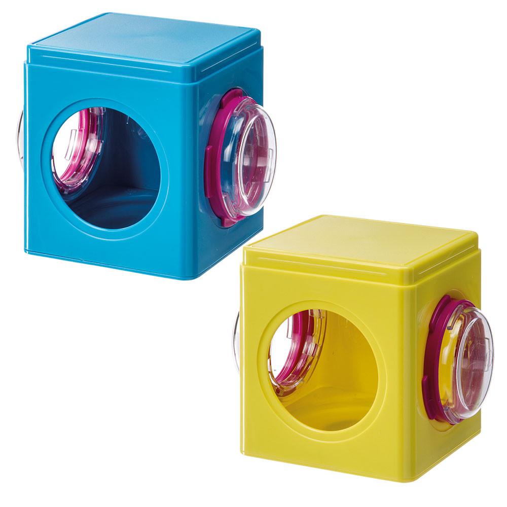 Ферпласт Куб пластиковый FPI 4836 для модульных клеток и тоннелей Ферпласт, 12,5*9,5*10,5 см, в ассортименте, Ferplast