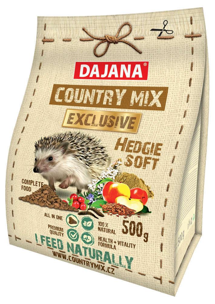 Даяна Корм сухой для ежей Country Mix Exclusive Hedgie, 500 г, Dajana