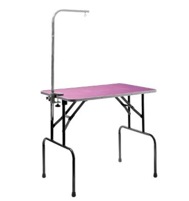 ПетЛайн Грумерский стол фиолетовый складной с кронштейном, в ассортименте, PetLine