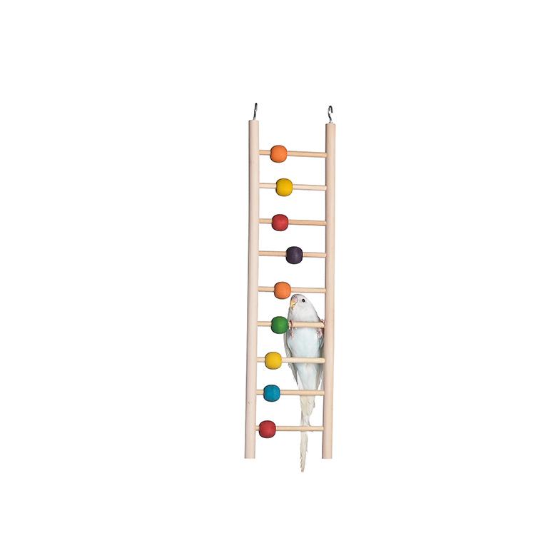 Брико Лестница деревянная 9 ступенек с бусинами, 9*39 см, Briko