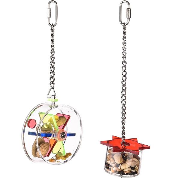 Брико Подвеска и фуражная игрушка для всех видов птиц, в ассортименте, Briko