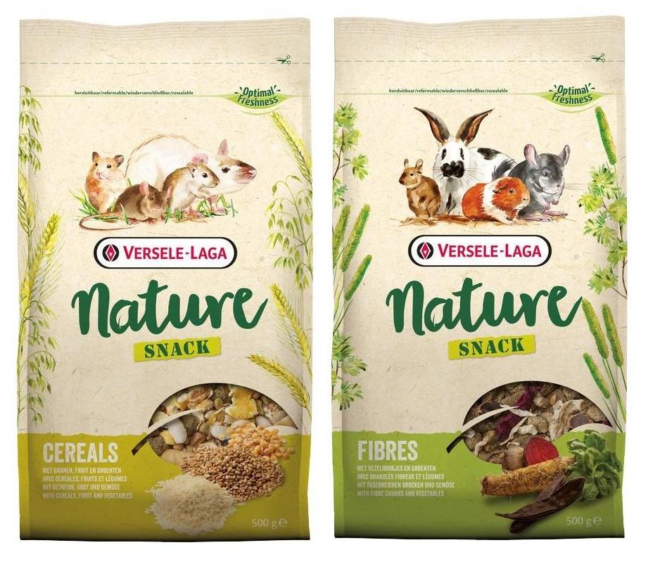 Верселе Лага Дополнительный корм Nature Snack для грызунов, в ассортименте, 500 г, Versele-Laga