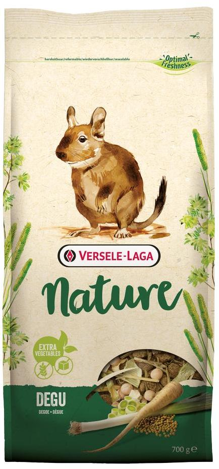 Верселе Лага Корм беззерновой Nature Degu для дегу, 700 г, Versele-Laga