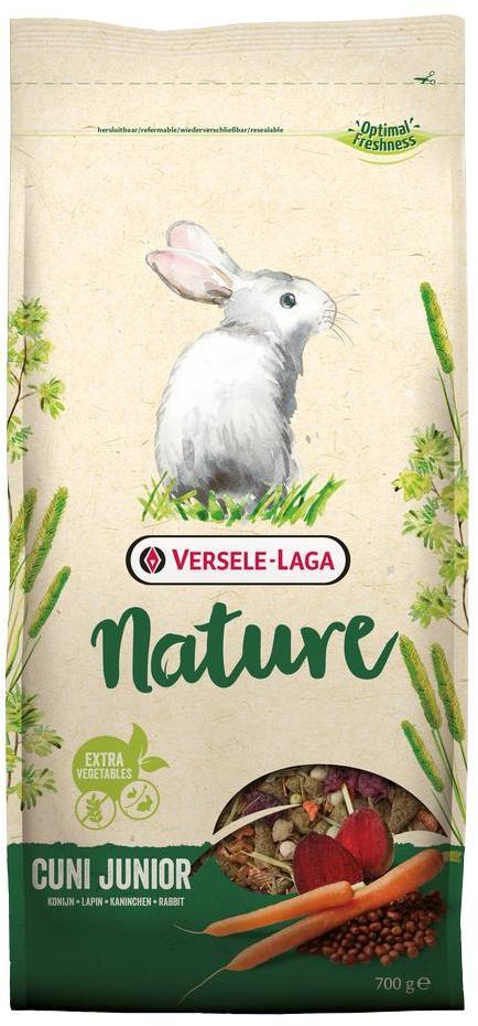 Верселе Лага Корм беззерновой Nature Cuni Junior для крольчат, 700 г, Versele-Laga