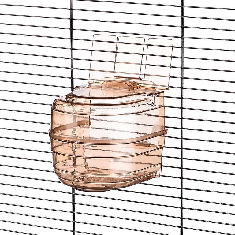 Брико Купалка внешняя закрытая BR-A017 для мелких птиц, 11,5*17 см, Briko