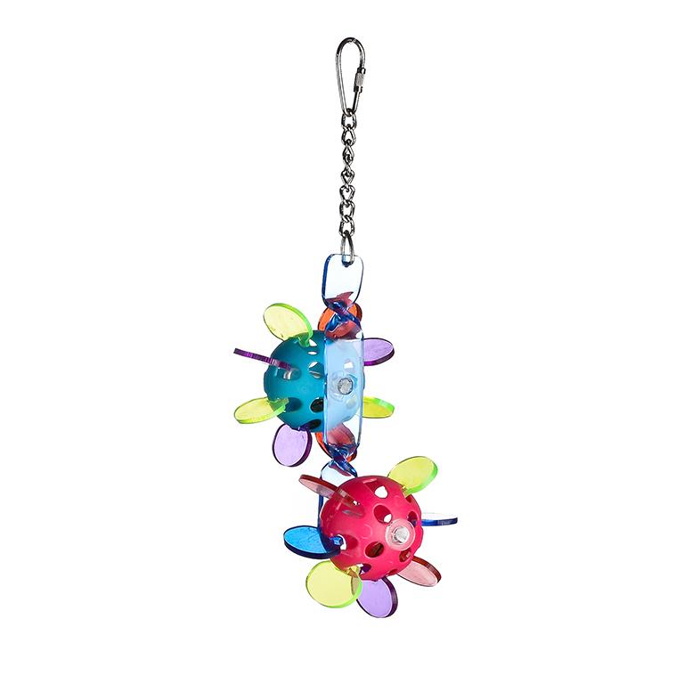 Брико Игрушка Цветные шары BR-A067 для птиц, 27*13*8,5 см, Briko