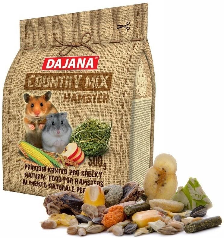Даяна Корм Country Mix Hamster для хомяков, 500 г, Dajana