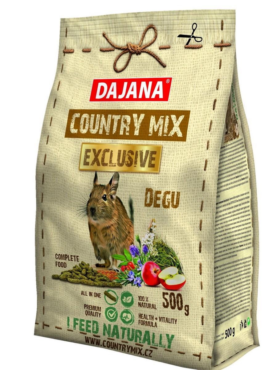 РАСПРОДАЖА! Даяна Корм Exclusive Degu для дегу, 500 г, Dajana