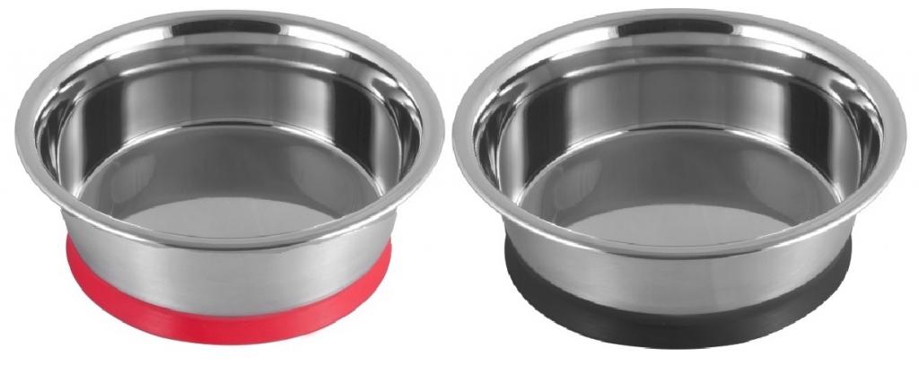 Анкур Миска металлическая с вакуумным креплением к полу для собак и кошек, в ассортименте, Ankur