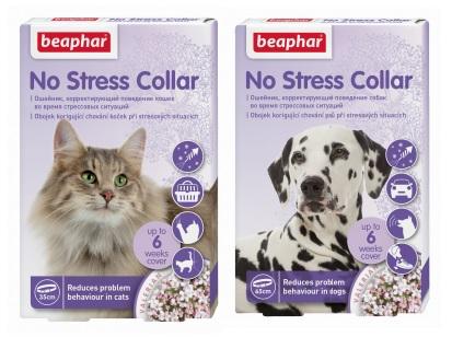 Беафар Успокаивающий ошейник No Stress Collar для собак и кошек, в ассортименте, Beaphar