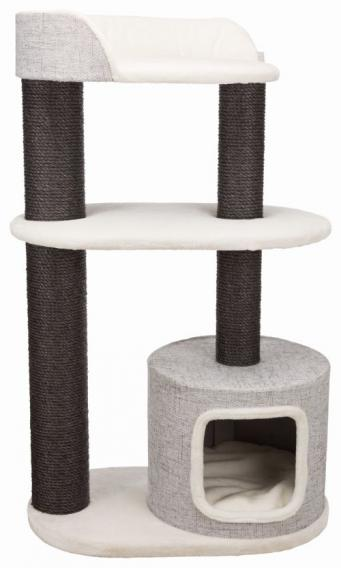 Трикси Комплекс для крупных кошек Cara XXL, 78*48*128 см, белый/серый, Trixie