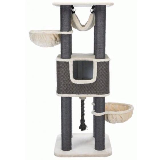 Трикси Комплекс для крупных кошек Humberto XXL, 68*68*174 см, кремовый/серый, Trixie