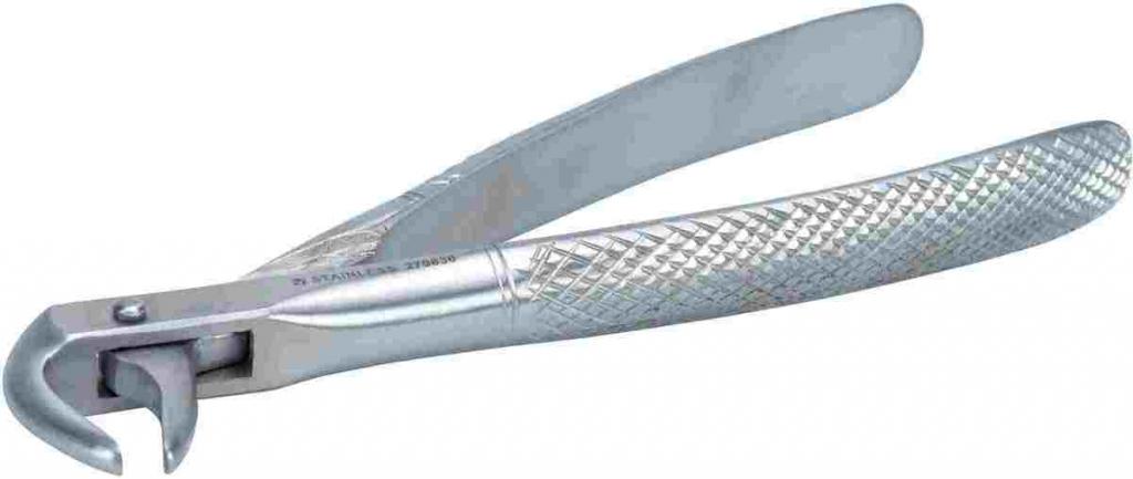 Круз Экстрактор стоматологический угловой для кошек и собак, 15 см, Kruuse