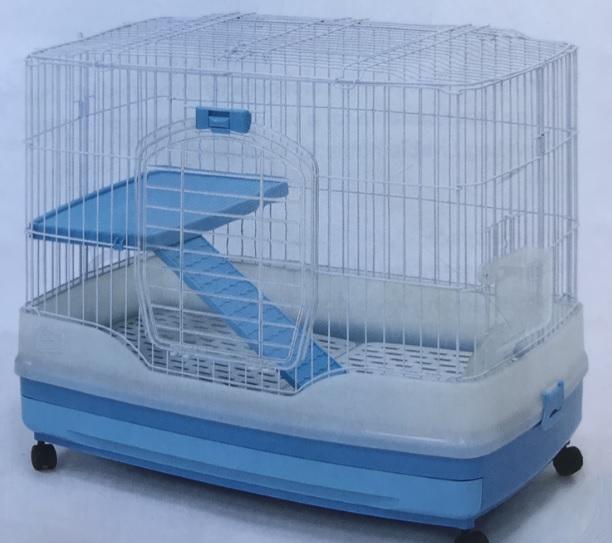 Клетка R51 на колесах для грызунов и хорьков, 68*46*59 см, в ассортименте