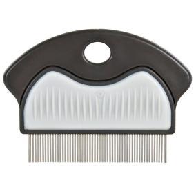 Трикси Гребень антиблошиный c частыми зубцами для короткой шерсти, 7 см, Trixie