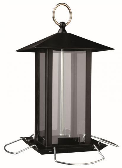 Трикси Кормушка для птиц уличная, 1 л, 19*19*20 см, металл, Trixie