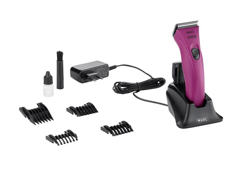 Вол Машинка Creativa аккумуляторная для стрижки животных, нож, сумочка и ножницы в комплекте, Wahl