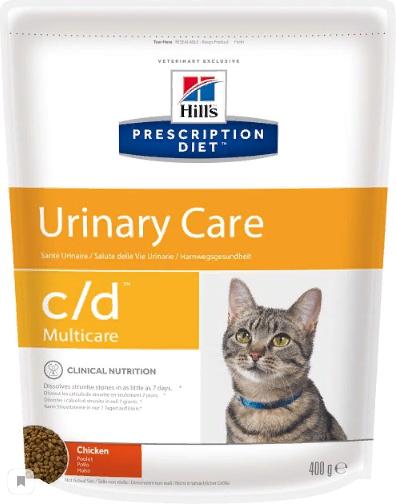 Хиллс Корм сухой Prescription Diet c/d Multicare Feline Chicken для кошек при заболеваниях нижних отделов мочевыводящих путей, Курица, в ассортименте, Hills