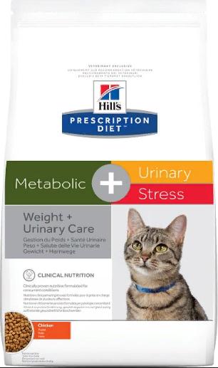 Корм Хиллс Prescription Diet Feline Metabolic Диета для кошек для коррекции веса, 1,5 кг, Hills