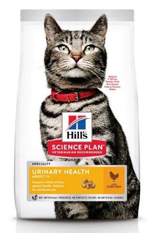 Хиллс Корм сухой Science Plan Urinary Sterilised для стерилизованных кошек и кастрированных котов, Курица, в ассортименте, Hills